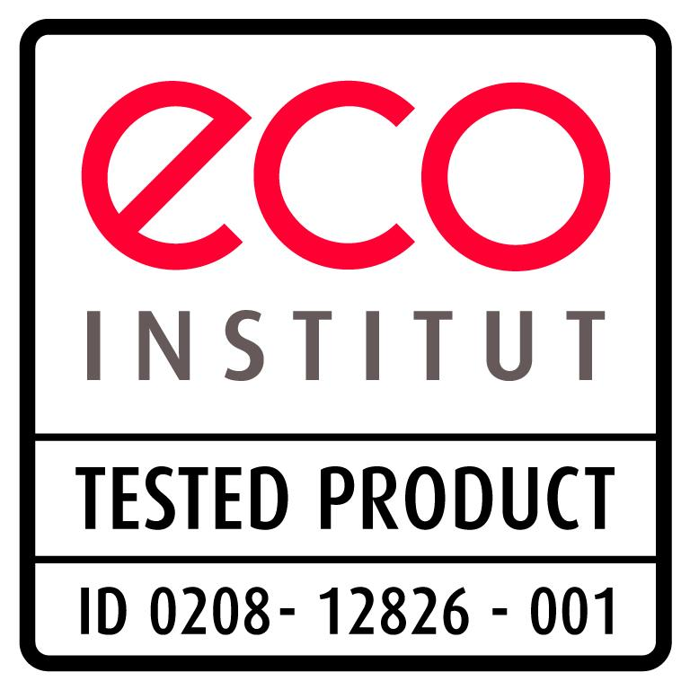 Certification Eco Institut du latex 100% naturel Biosense