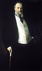 Aristide Boucicaut, W. Bouguereau, 1875, coll. part. Maison A. Boucicaut.
