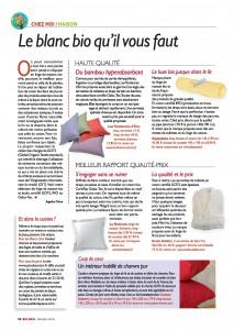 Article Aquanatura Biosense BioInfo n°34 - MAI 2015