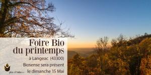 201601 Foire Bio à Langeac 600x300