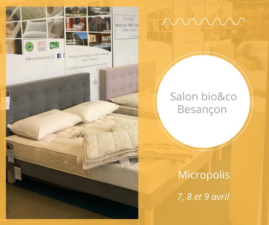 Actualit s et v nements le sommeil au naturel for Salon bio paris